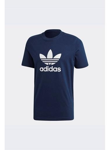 adidas Erkek Trefoil  Tişört ED4715 Mavi